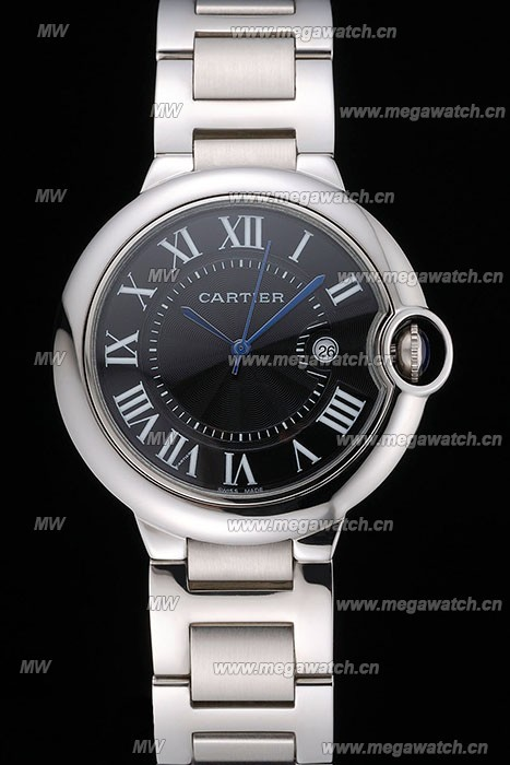Black Dial Cartier Tank replica